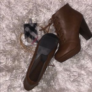 "Payless ""Brown Booties"""